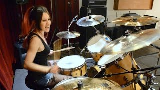"Slayer ""South of Heaven"" Drum Cover (by Nea Batera)"