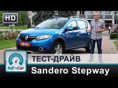 Renault  Sandero Хетчбек класса B - тест-драйв 2