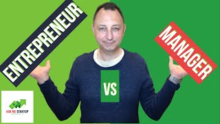 Who is better entrepreneur or manager