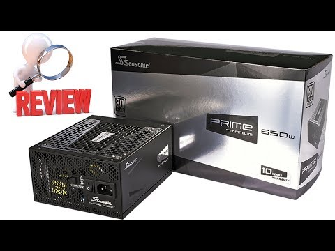Seasonic PRIME Ultra Platinum 850w – $180 Ultimate Power Supply