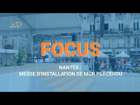 Nantes : messe d'installation de Mgr Percerou