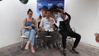 Entrevista Película 108 Costuras con Kuno Becker, José Ángel Bichir y Fabiola Guajardo