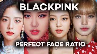BLACKPINK PERFECT FACE RATIO l Golden Ratio l Lowcostedit