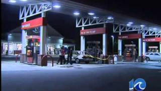 preview picture of video 'Gas station car fire in Virginia Beach'
