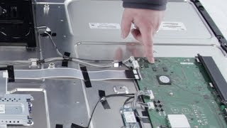 LED TV Repair Main Board Overview Blank Screen-TV Has Audio but No Video-Common Issues Problems