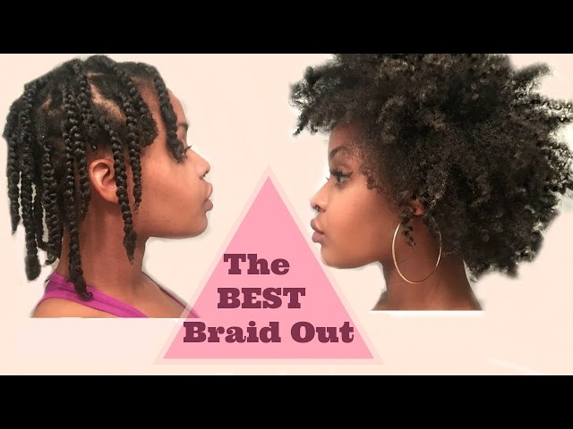Braidout On 4c Natural Hair The Best Fluffy Braid Out 4c Natural