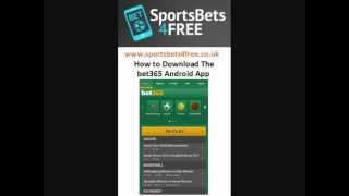 How To Download The Bet365 Android App