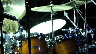 Simon Phillips Drum Solo in Orebro TOTO 35 - Footage from STAGE