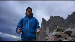 Climbing The Cordier Pillar With The Arc'teryx Alpha SV jacket - Vlog 14