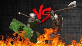Nord Huscarl VS Rhodok Sergeant