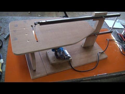 Maquina de marquetería casera 1.3 partes