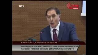 Kamu Başdenetçisi Şeref Malkoç'un Devir Teslim Töreni Konuşması