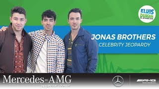 Jonas Brothers: Celebrity Jeopardy | Elvis Duran Show