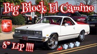 BIG BLOCK EL CAMINO ON 24 SAVINI !!!!!