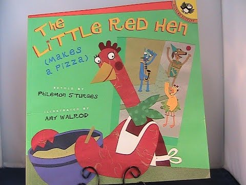 The Little Red Hen (makes a Pizza) Book review by Reading Children's Books