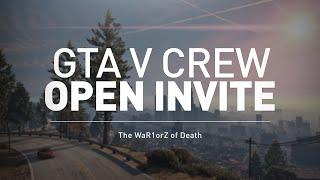 Gta 5 Crew Open Invite Enrollment