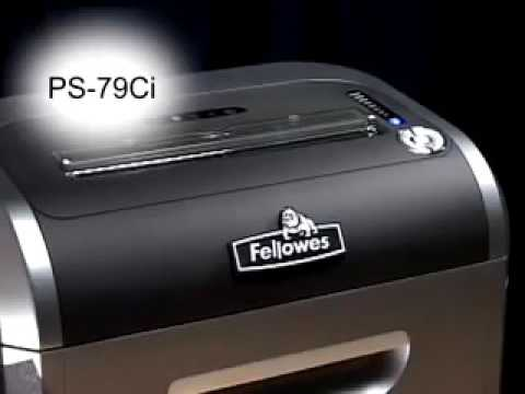Video of the Fellowes Powershred SB-99Ci Shredder