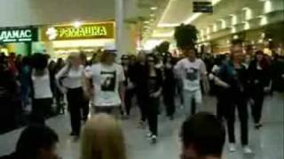 Michael Jackson King August 2009 Flash Mob Krasnoyarsk