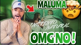 MALUMA   Instinto Natural (Official Video) Ft. Sech Reaction !