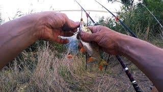 Ловля рыбы на новотроицком водохранилище
