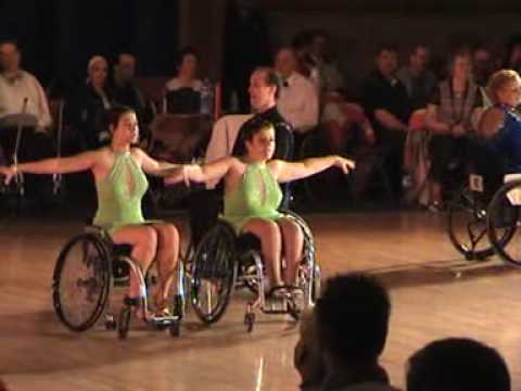 Wheelchair dancing