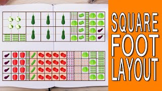 Square Foot Gardening - Layout Plans & When To Start Planting