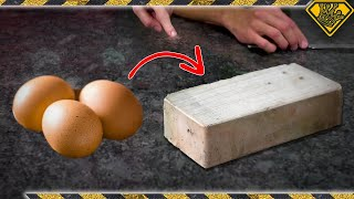 Can Eggshells be Used to Build a HOUSE?