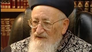 הרב מרדכי אליהו זצוק''ל מספר על באבא סאלי 1