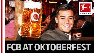 Coutinho, Neuer & Co. Visit Oktoberfest - Bayern Stars Keep Up Tradition