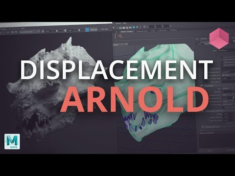 ZBrush to Arnold for Maya –  32 Bit Displacement UDIM Tutorial