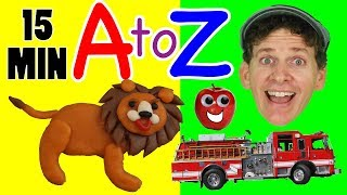 A to Z Phonics Songs | Kids Songs Compilation with Matt | Learn English Preschool