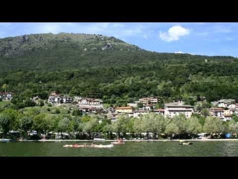 De magie van het meer Lago di Piano Porlezza Italië