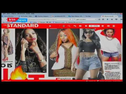 Types of Kenyan girls in the club
