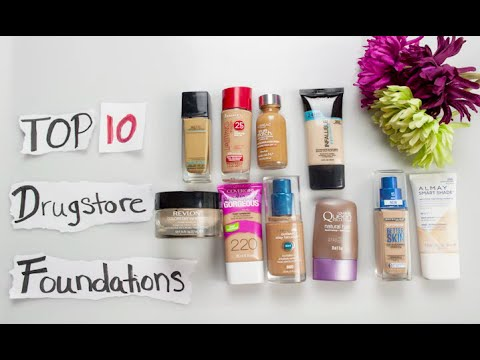The 10 Best Drugstore Foundations