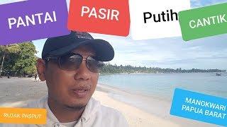 preview picture of video 'TRAVEL VLOG    PESONA PANTAI PASIR PUTIH MANOKWARI PAPUA BARAT #WISATA #INDONESIA #PAPUABARAT #TOUR'