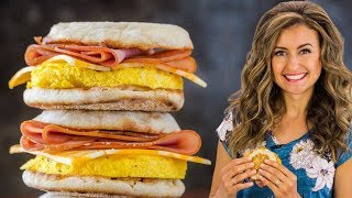 How To Make Freezer-Friendly Breakfast Sandwiches | Meal Prep
