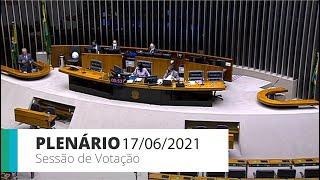 PLENÁRIO - Sessão para a votação de propostas legislativas - 17/06/2021 10:00