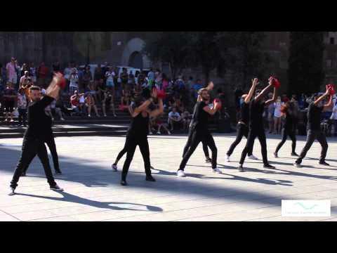 Flahsmob en la Plaça Catedral de Barcelona – RCP-