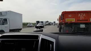 Авария на трассе Астана-Темиртау