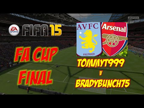 FA CUP FINAL - Aston Villa v Arsenal - Fifa 15