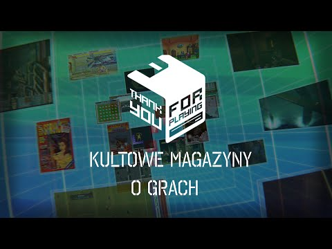THANK YOU FOR PLAYING - 1993 - 2014 TRAILER, Kultowe Magazyny o Grach,