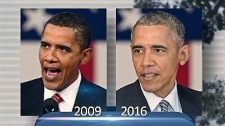 До и после: как Барак Обама изменился за время своего президентства