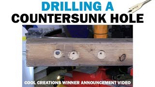 How To Drill a Countersunk Pilot Hole With Spade Bits | Fasteners 101