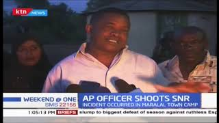 Junior officer shoots a senior sergeant in Maralal
