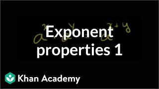 Exponent Properties 1