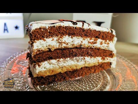 Čoko-moko torta (brza, laka, ukusna, jeftina)