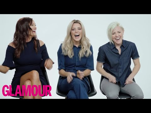 Who Knows Grace Helbig Best? Mamrie or Hannah Hart? | Glamour