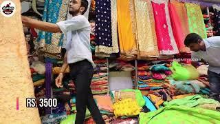 Sowcarpet Shopping In Chennai   Sarees   Designer Sarees  Online Shopping  Sowcarpet  Madras Vlogger
