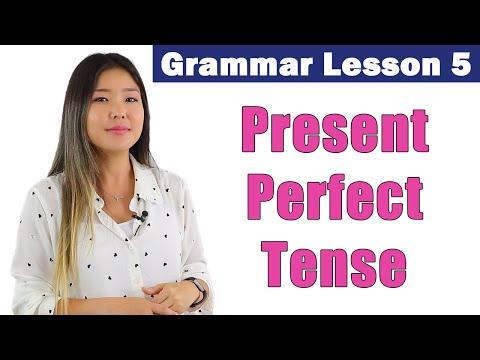 Learn Present Perfect Tense | English Grammar Course