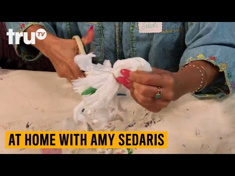 At Home with Amy Sedaris Craft Tutorial: Bodega Bag Bow | truTV